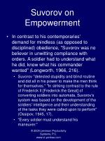 suvorov on empowerment