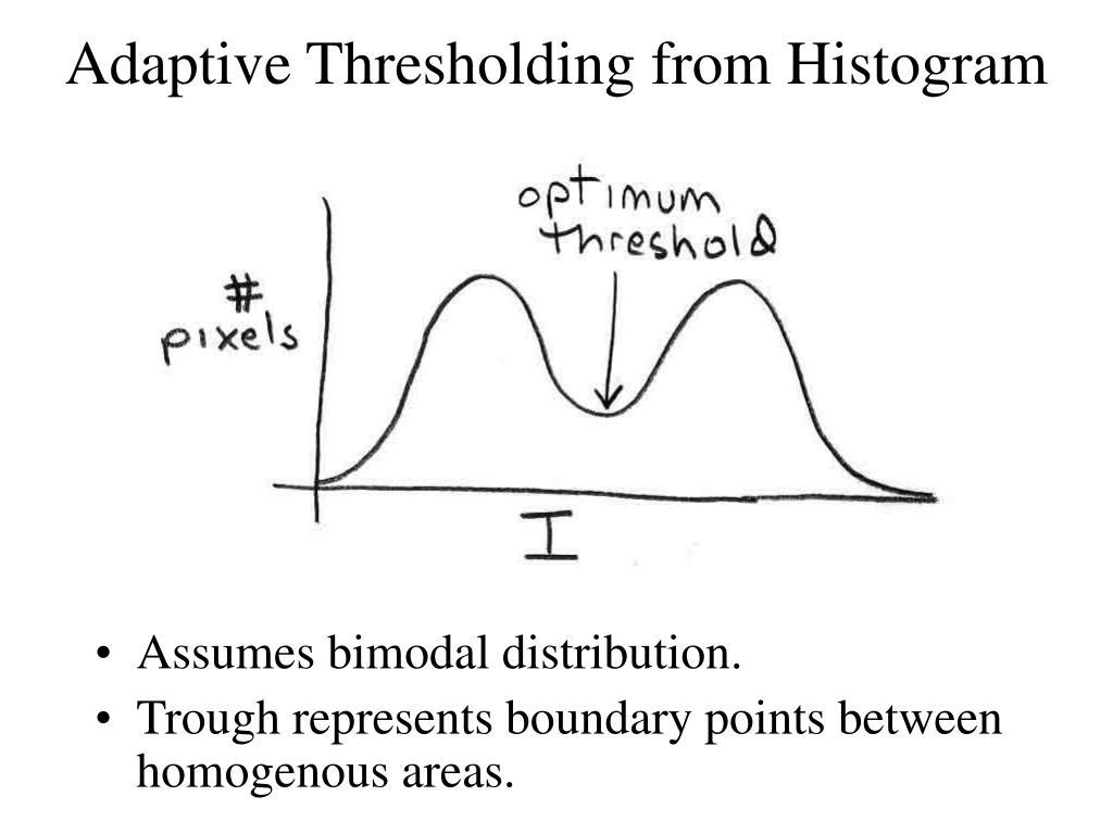 Assumes bimodal distribution.