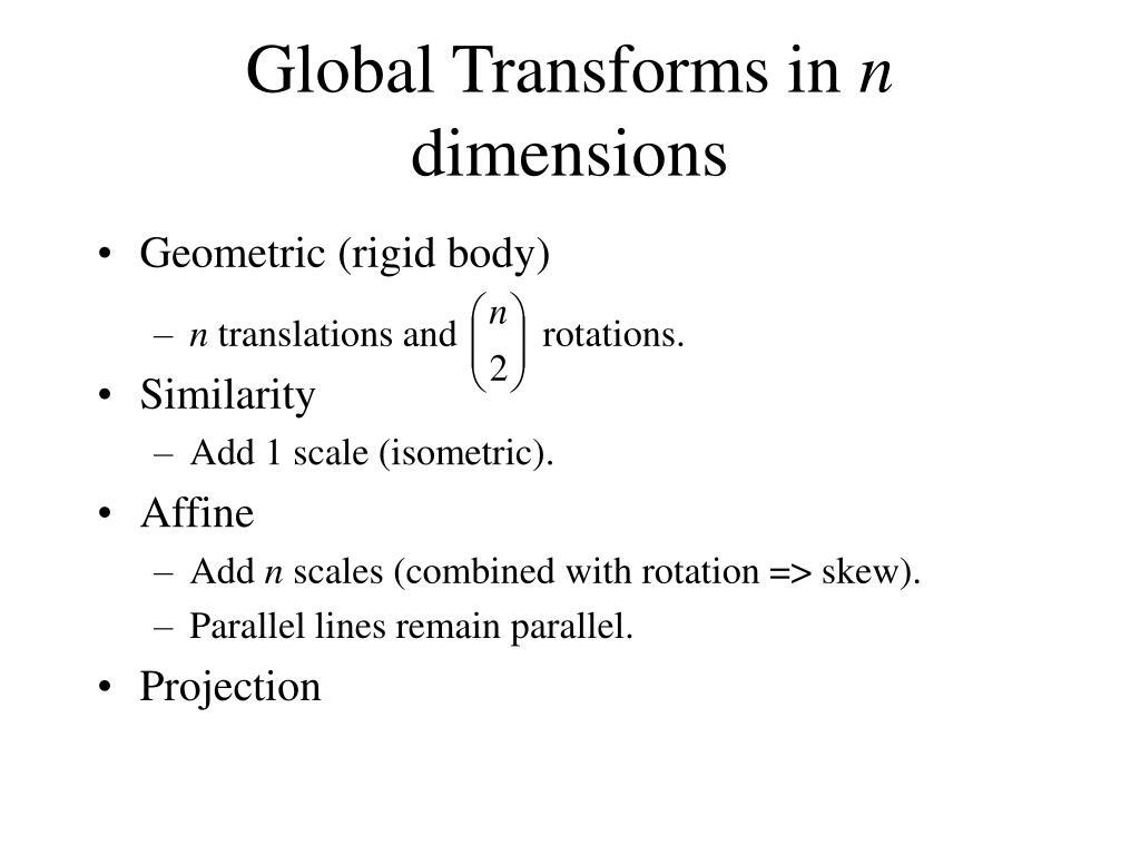 Geometric (rigid body)