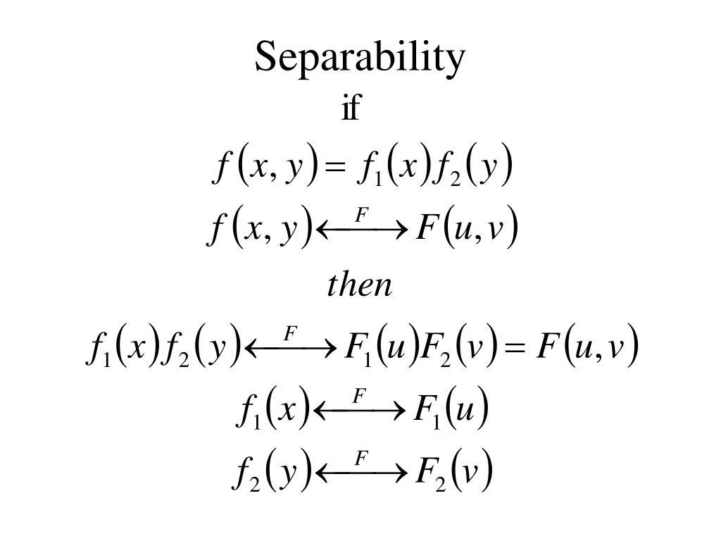 Separability