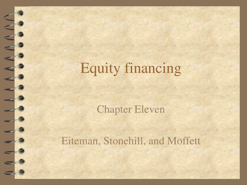 equity financing l.