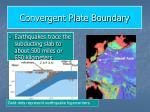convergent plate boundary15