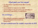 qu pas con los mayas