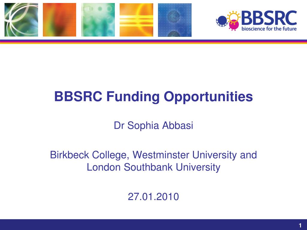 bbsrc funding opportunities l.
