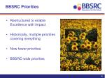 bbsrc priorities