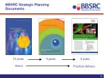 bbsrc strategic planning documents