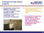examples of high impact projects