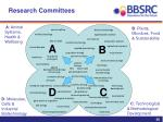 research committees