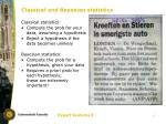 classical and bayesian statistics