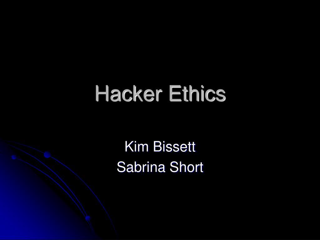 hacker ethics l.