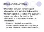 classroom observation19