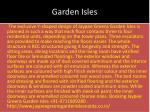 garden isles