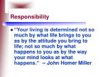 responsibility101