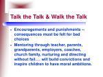 talk the talk walk the talk61