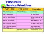 fhss pmd service primitives