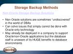 storage backup methods