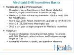 medicaid ehr incentives basics
