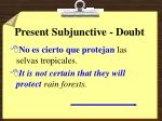 present subjunctive doubt4
