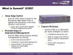 what is summit x350