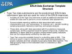 erln data exchange template structure15