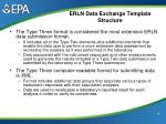 erln data exchange template structure16