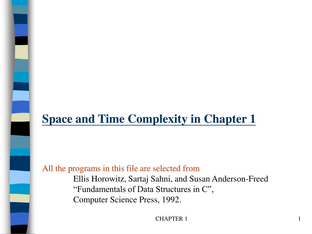 space and time complexity in chapter 1 l.