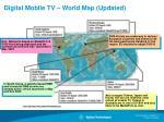 digital mobile tv world map updated