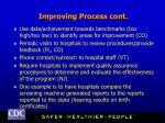 improving process cont
