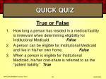 quick quiz63
