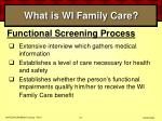 what is wi family care37