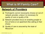 what is wi family care38