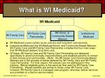 what is wi medicaid20