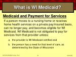 what is wi medicaid26