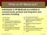 what is wi medicaid27