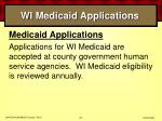 wi medicaid applications