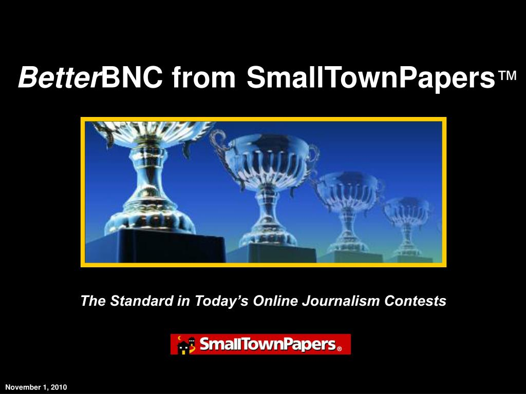 the standard in today s online journalism contests l.