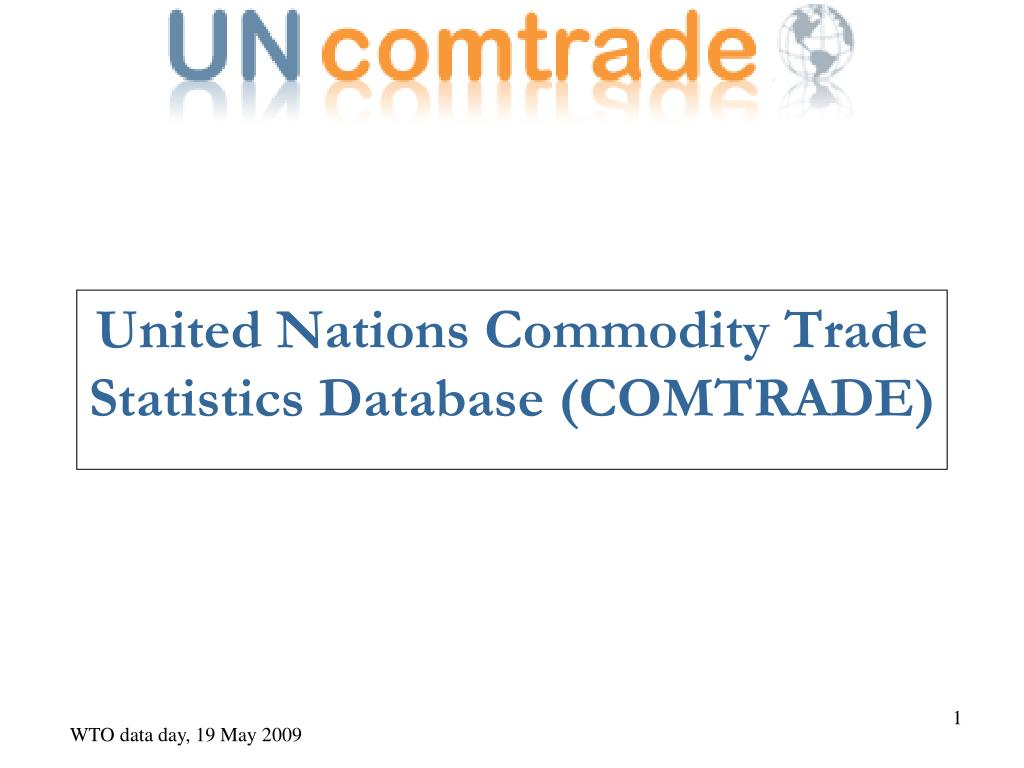 united nations commodity trade statistics database comtrade l.