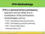 ipta methodology