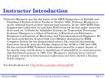 instructor introduction4