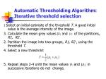 automatic thresholding algorithm iterative threshold selection