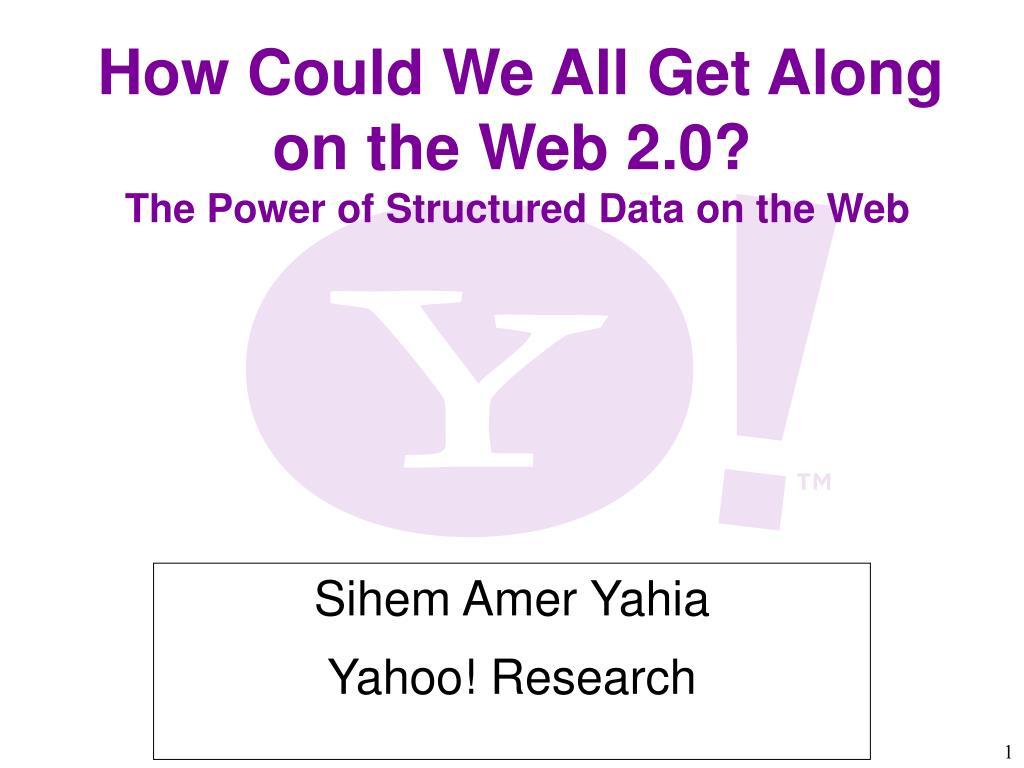 sihem amer yahia yahoo research l.
