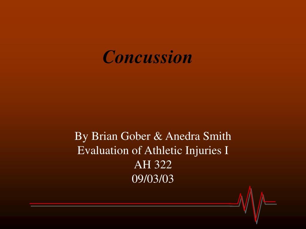 concussion l.