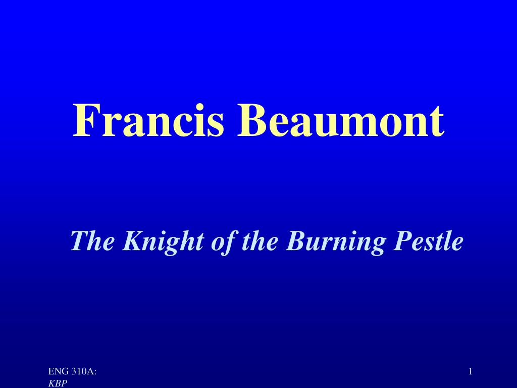 francis beaumont l.