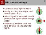 mri compass analogy