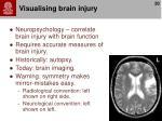 visualising brain injury