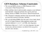 gen database schema constraints