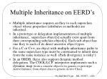 multiple inheritance on eerd s