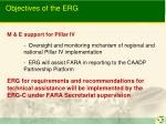 objectives of the erg