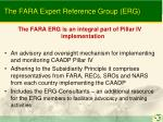 the fara expert reference group erg