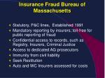 insurance fraud bureau of massachusetts